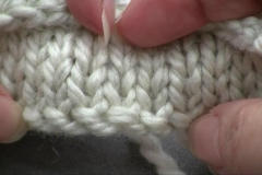 Breiend opzetten / Knitting On