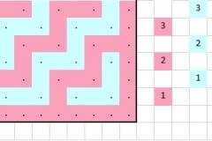 Patroondeel voor toer 3a (voorkant)