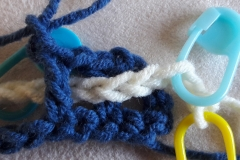 Double crochet nr 3 in close up