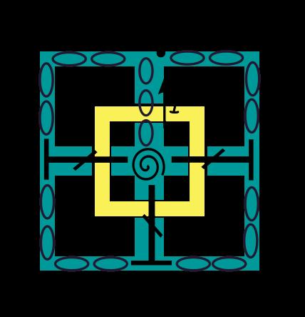 Rij 1 haaksymbolen