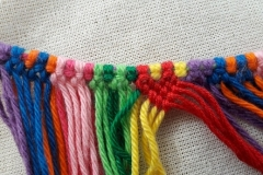 Knotted bag, block 1
