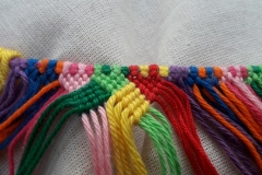 Knotted bag, block 5