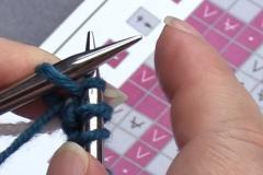 03 Row 1b 18 purl last stitch