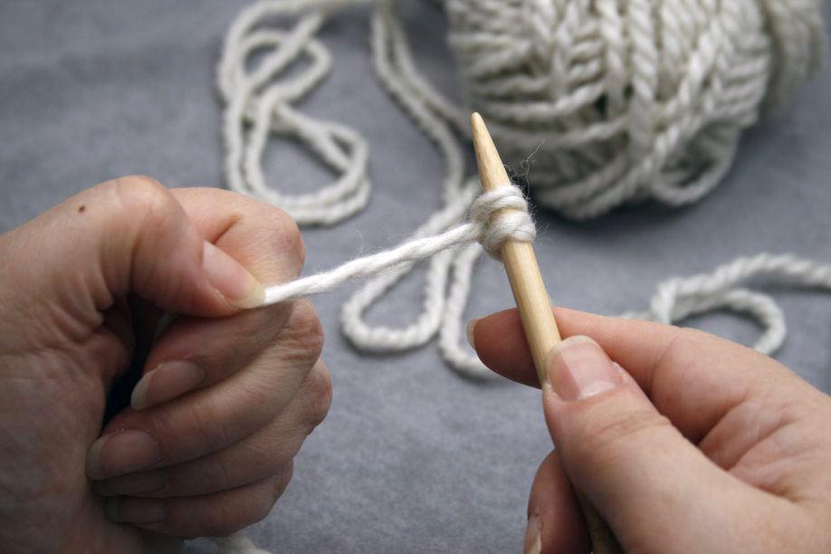 Backward Loop Cast On   De Handwerkjuf