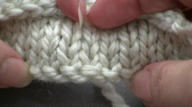 Knitting On / Breiend opzetten