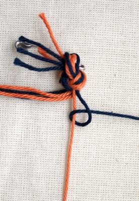 (Dubbele) rechtse knoop - stap 3