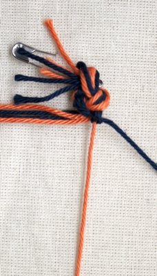 (Dubbele) rechtse knoop - stap 6