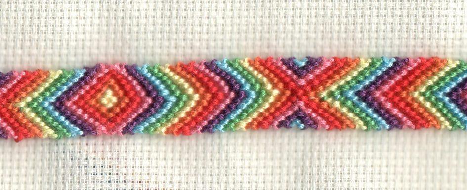 Regenboog in V-vorm