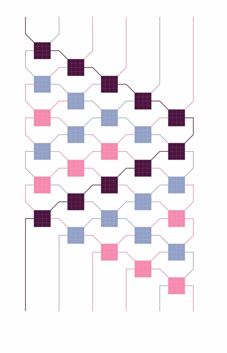 Zigzag pattern variation b