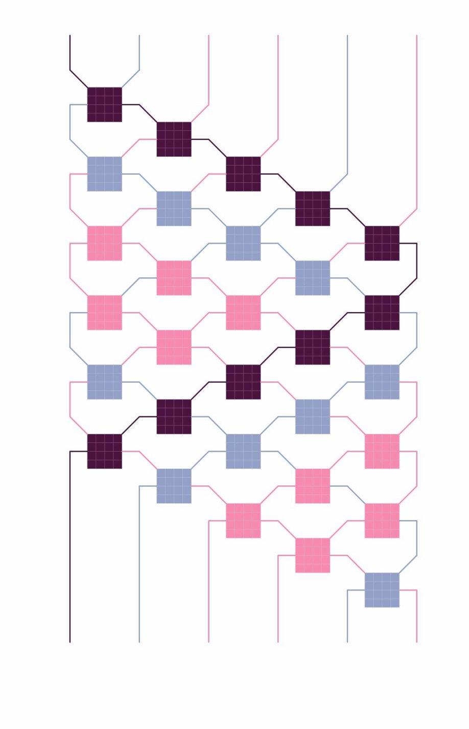 Zigzag pattern variation c