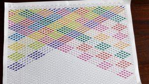 Ontwerp stap 5: Niet kruizen op de diagonalen