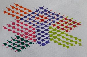 Adjustment 1 of the zigzag motif