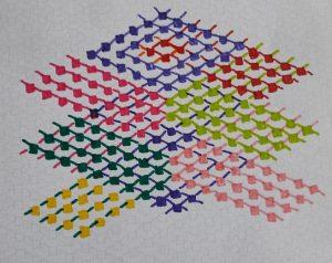 Adjustment 2 of the zigzag motif