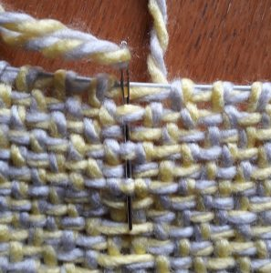 Step 10: weaving through