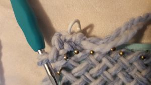 2nd Single crochet in corner A