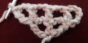 Treble crochet made